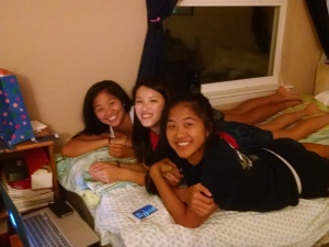 My daughter (center) with two of her best friends, also adopted from China and also my honorary daughters!