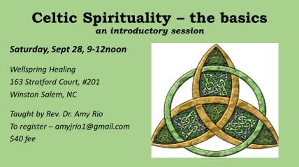 Celtic Spirituality – the basics